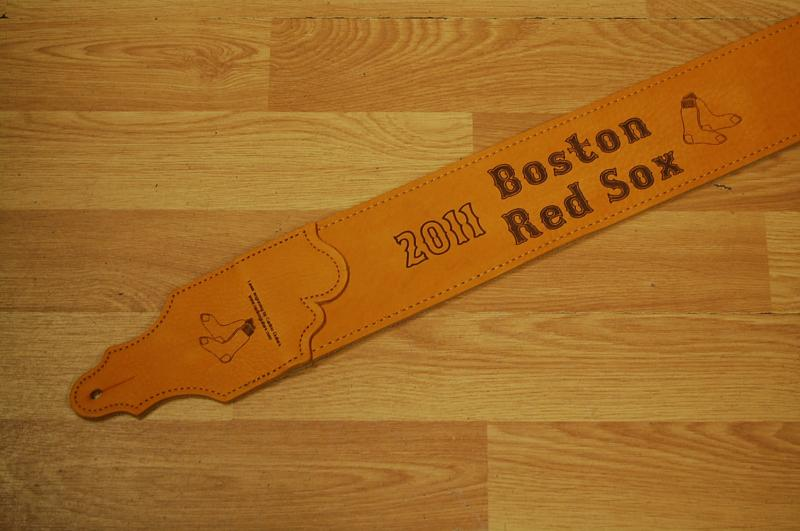 Custom Strap Made for the Boston Red Sox Charity Auction